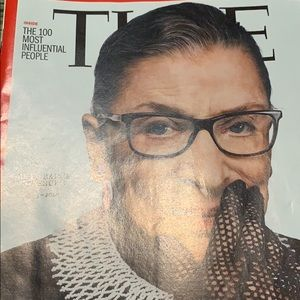 Time magazine RBG coffee table collect Oct preown